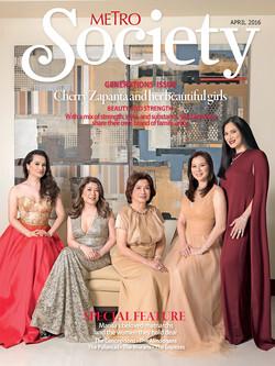 Metro Society April 2016 Cover