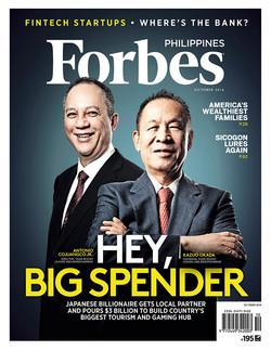 Forbes October 2016 Jinggo Montenejo