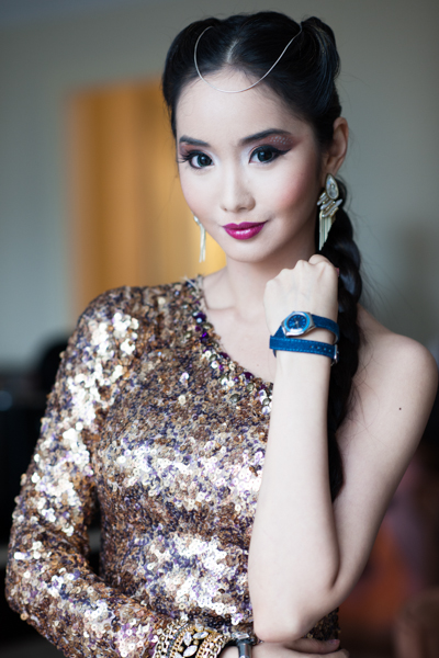 Alodia Gosiengfiao for Swatch