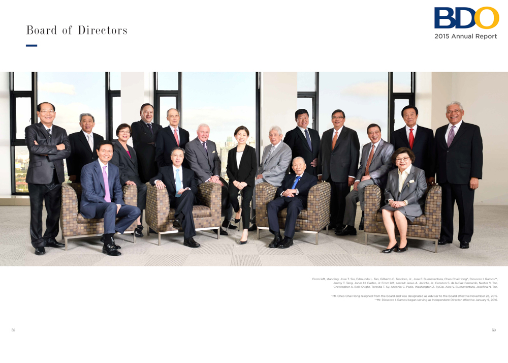 BDO Board of Directors