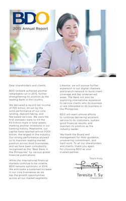 BDO 2015 Annual Report-Tessie Sy