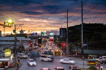 Rush hour. Davao City Philippines