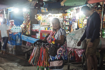 Vendor at the Davao Night Market