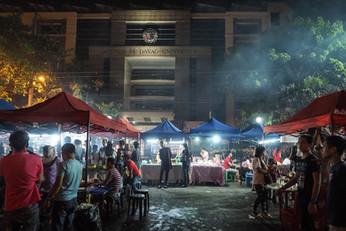 Night Market in front Ateneo University, Davao City