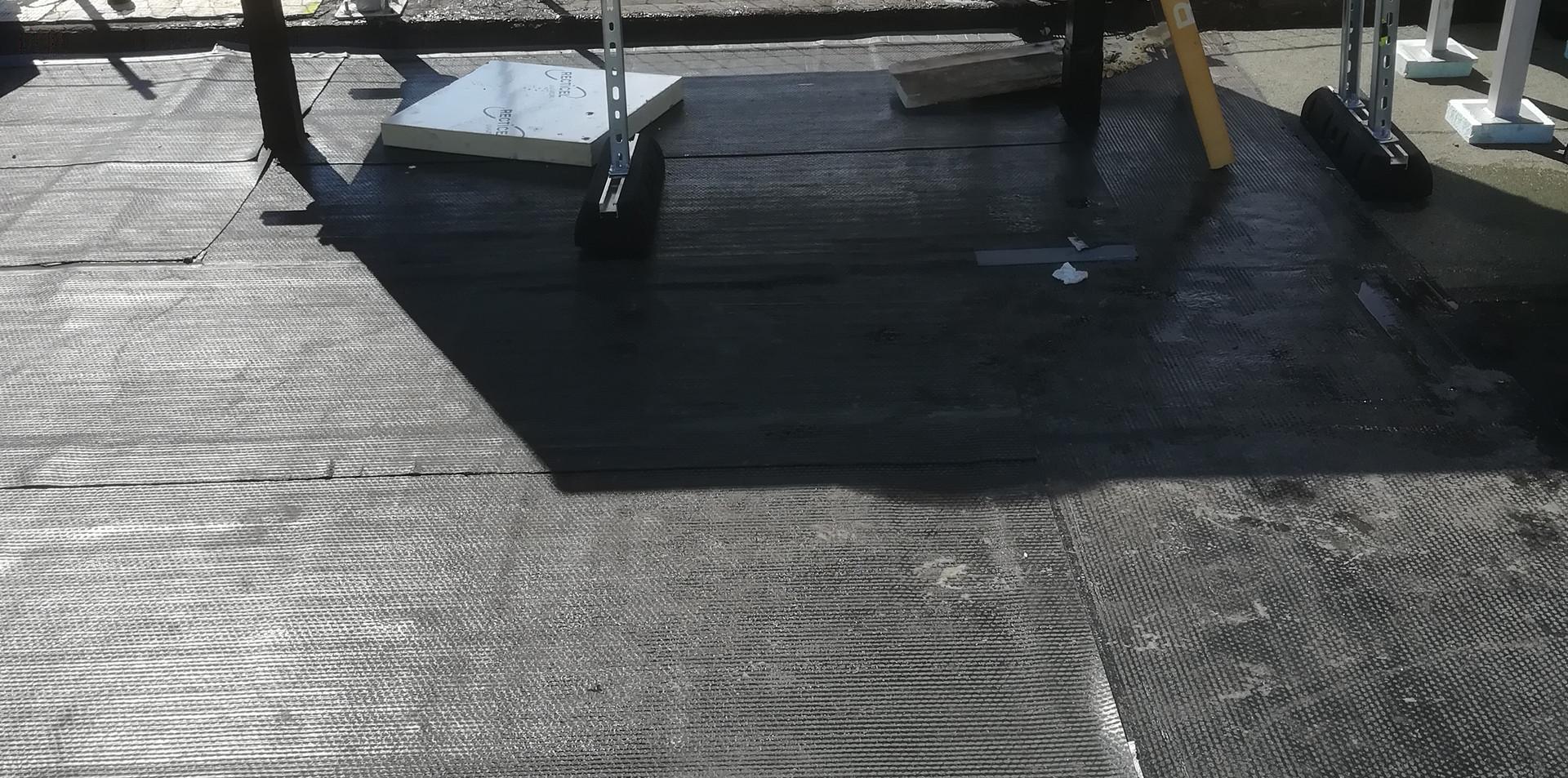 équipement toiture étanchéité