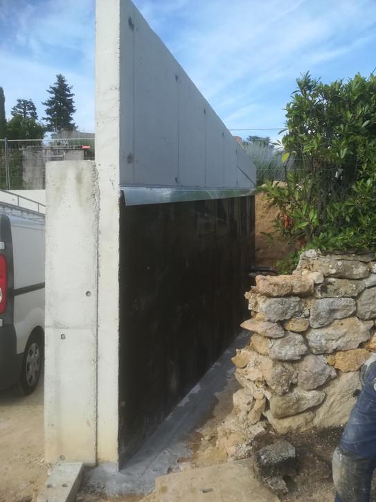 étanchéité mur enterré