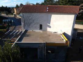 toit plat étanchéité
