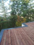 terrasse bois couvertines étanchéité