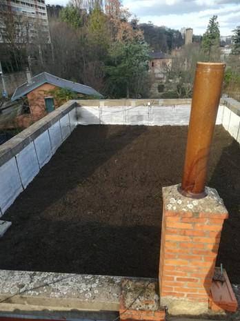 Après chantier étanchéité toit terrasse
