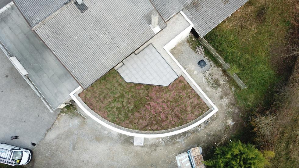 Végétalisation toit terrasse et dalettes sur plots étanchéité