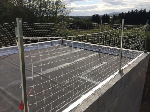 protection filets travaux étanchéité toit terrasse