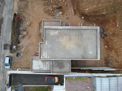vue aérienne terrasse toit plat étanchéité