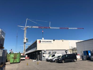 Siegwerk présentation chantier étanchéité