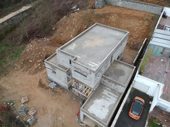 vue projet toit terrasse étanchéité