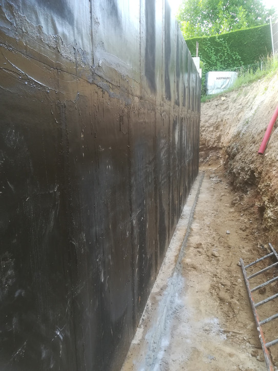 étanchéité murs enterrés