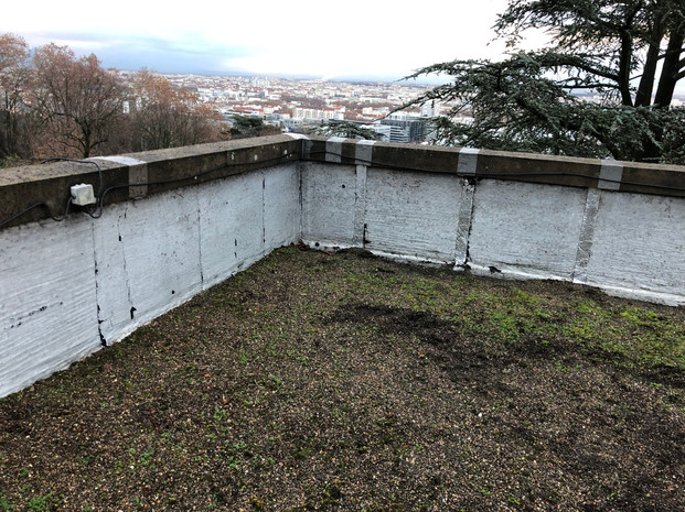avant chantier étanchéité toit terrasse