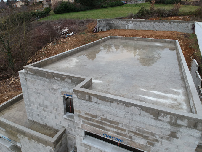 vue toit terrasse étanchéité