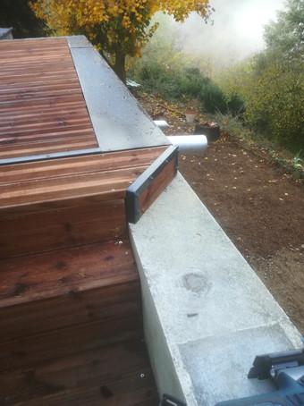 escalier terrasse bois étanchéité