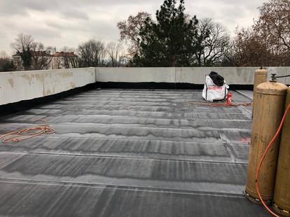 Terrasse toit plat étanchéité