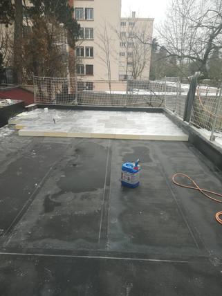 étanchéité et isolation toit terrasse