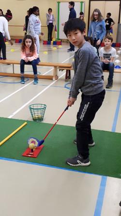 Initiation golf