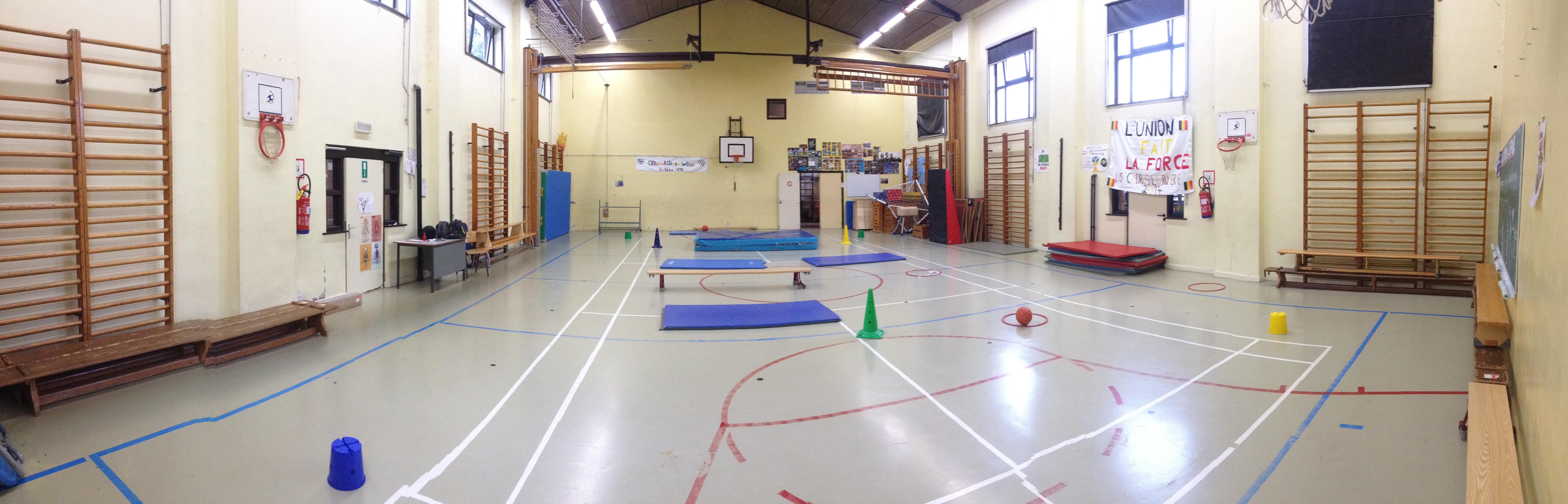 Salle de gymnastique