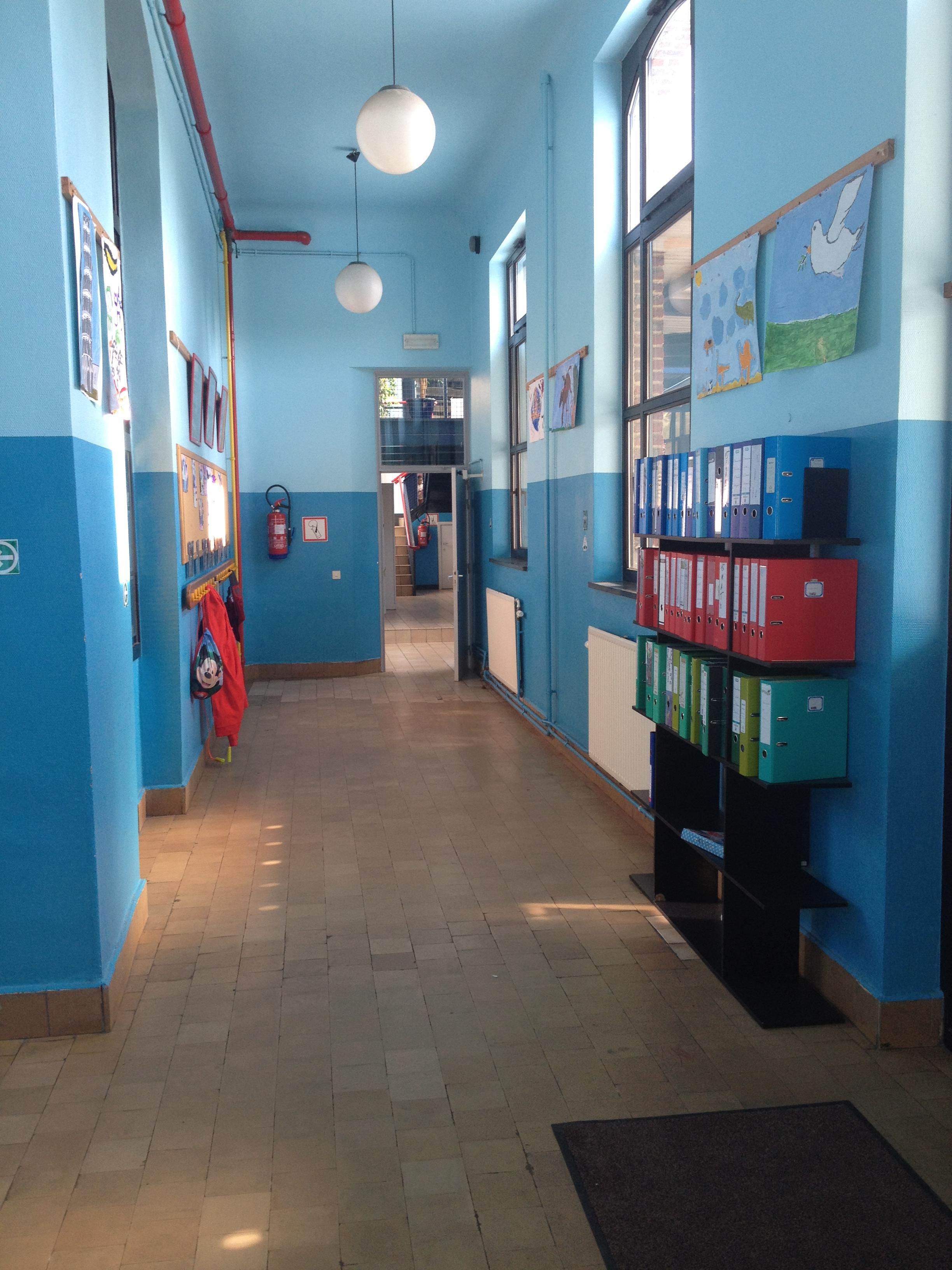 Couloirs des 5èmes primaires