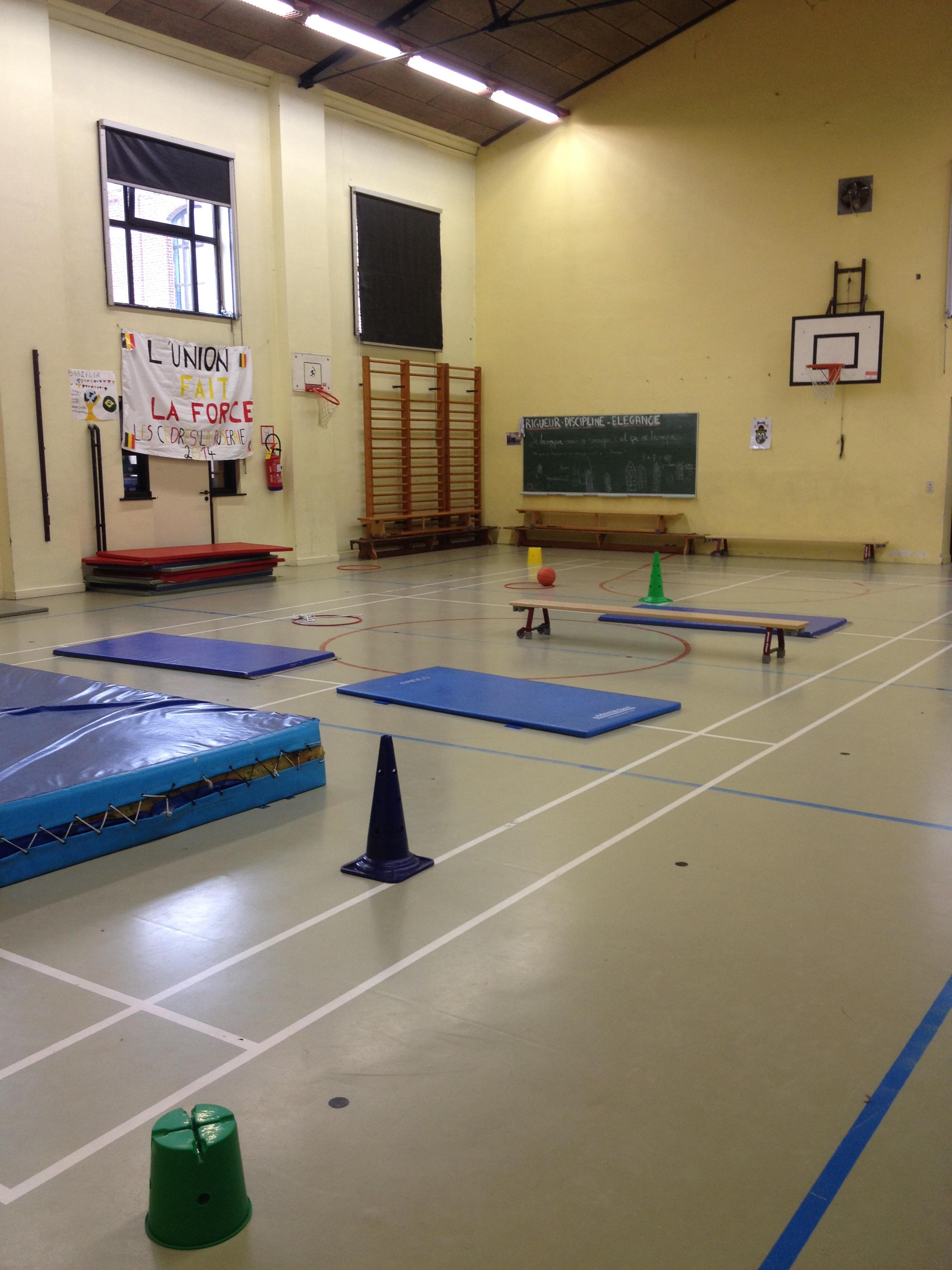 La salle de gymnastique
