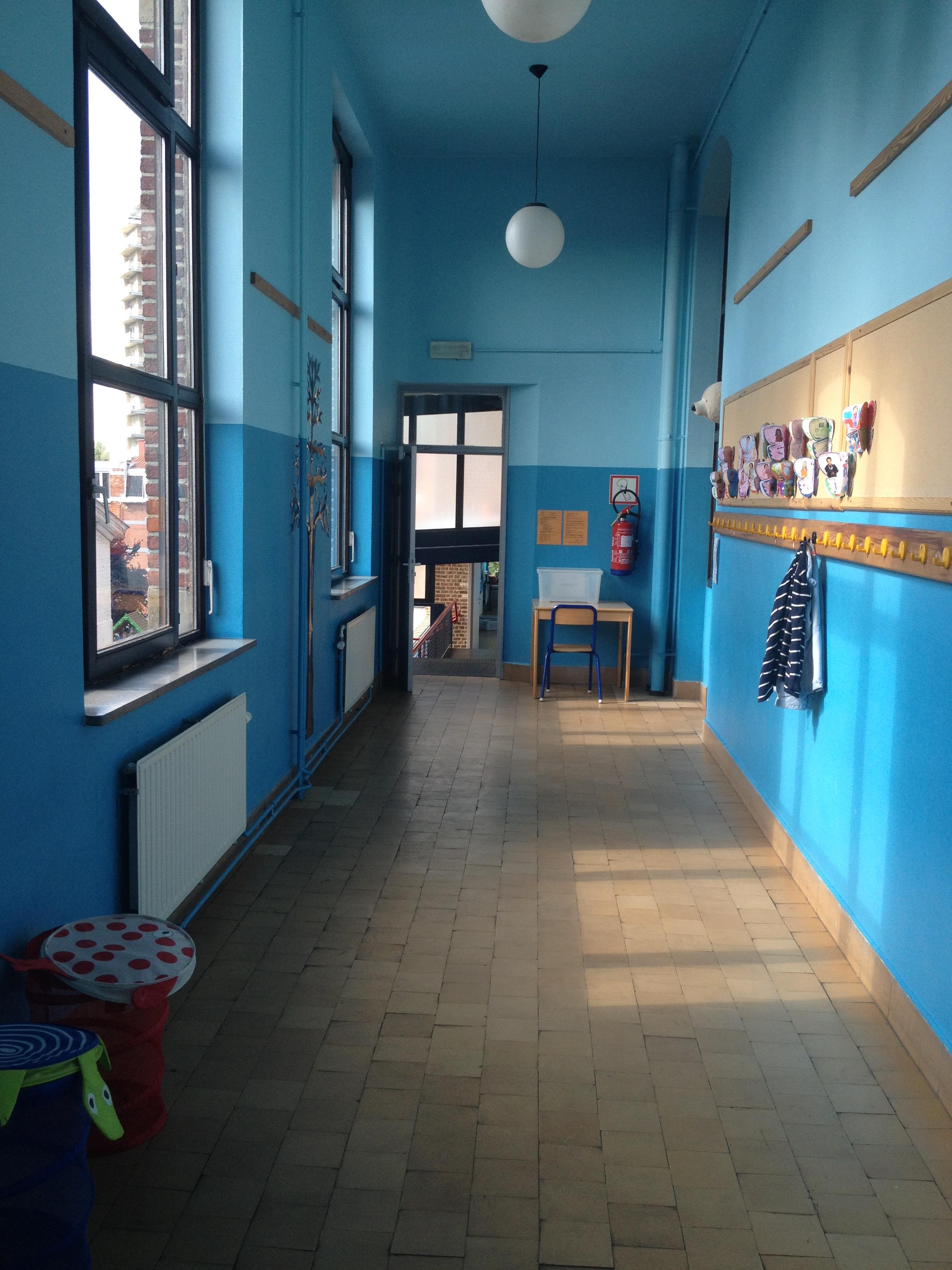 Couloir des 3èmes et 4èmes primaires