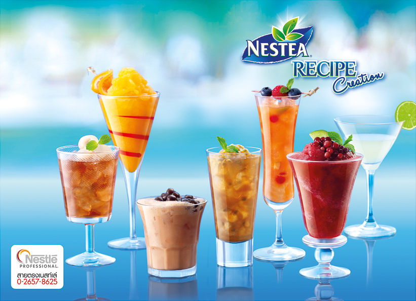 Nestea Recipe Cover