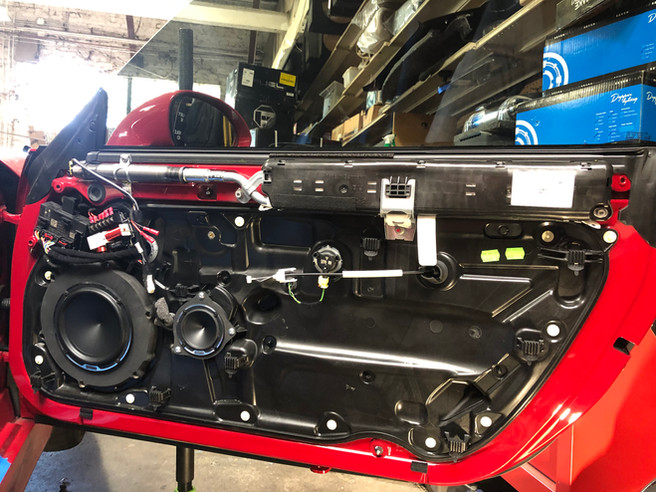 Porsche GT4 W/ Full Sound System Including Sound Dampening