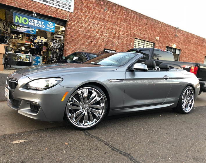 BMW 650i W/ Custom 3pc. Wheels