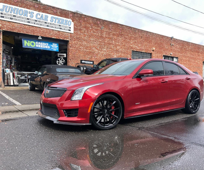 Cadillac ATS-V W/ Custom Wheels
