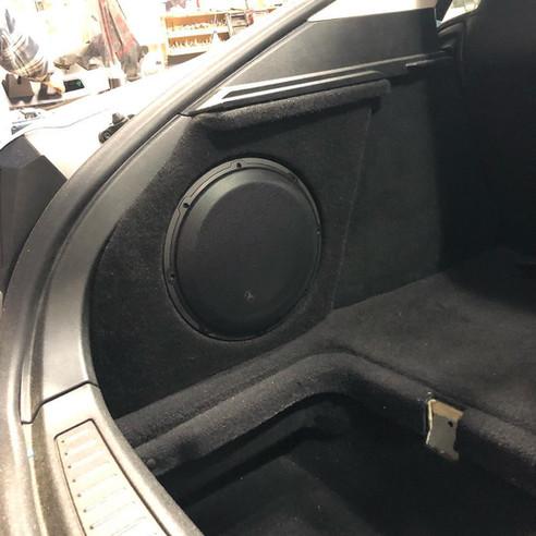 Tesla Model Y W/ Full Sound System & Hidden Subwoofer Enclosure