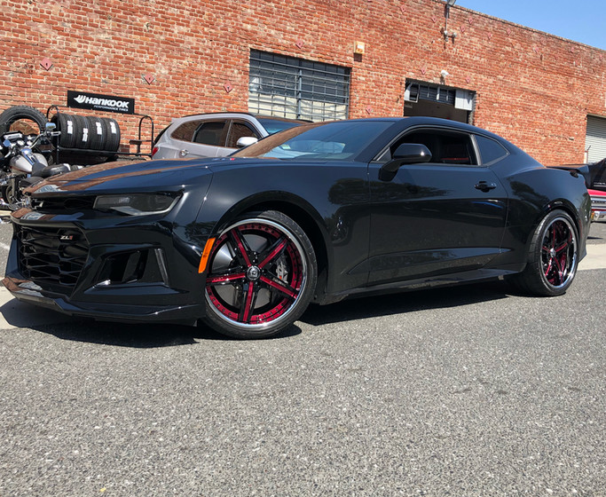 Chevy Camaro ZL1 W/ Custom 3pc. Asanti Wheels