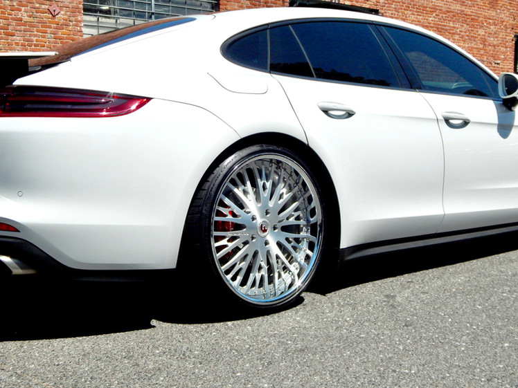 2019 Porsche Panamera W/ Custom 3pc. Forgiato Wheels