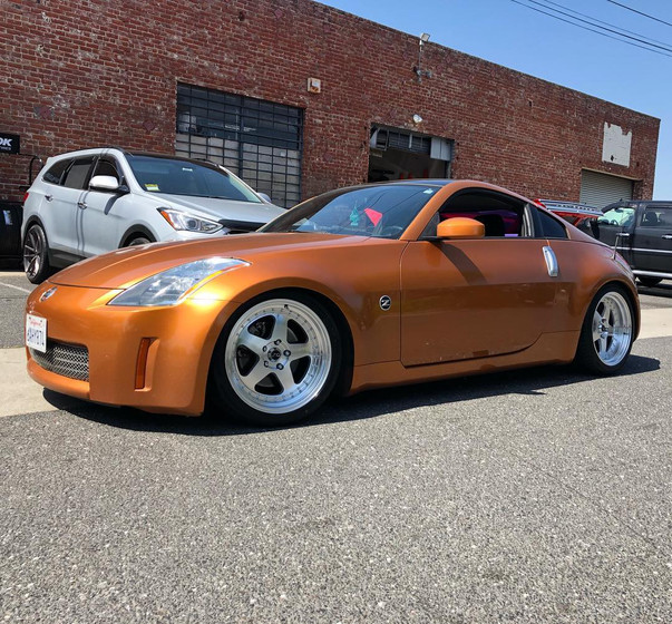 Nissan 350Z W/ Custom 3pc. Wheels