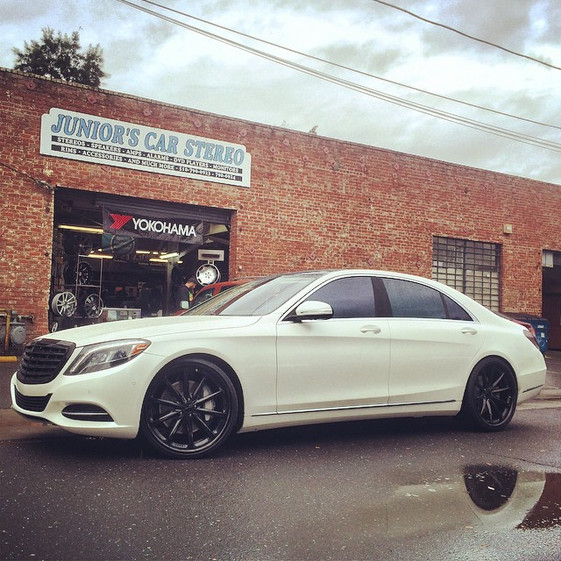2015 S550 W/ Custom Wheels