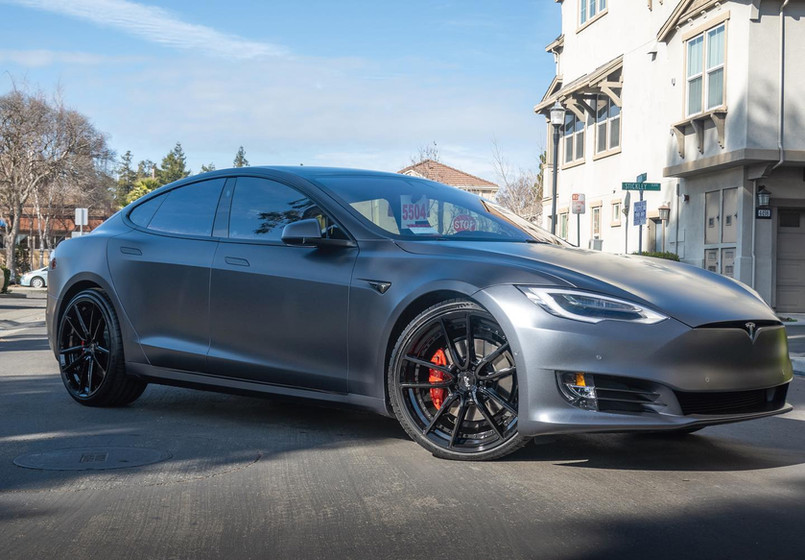 2018 Tesla Model S P100D W/ Niche Custom Wheels