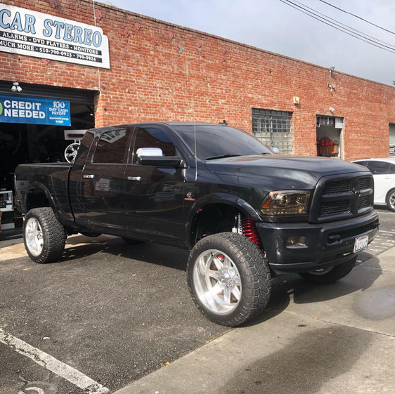 Dodge Ram W/ Custom Wheels