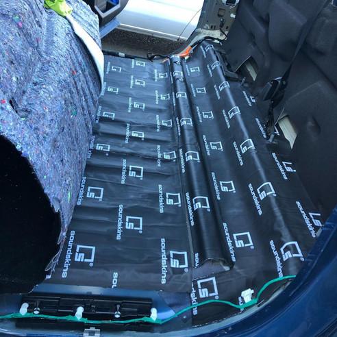 Ford F150 Raptor W/ Full Sound Dampening