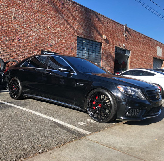 2015 Mercedes S63 AMG W/ Custom Forgiato Wheels