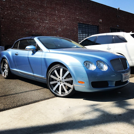 Bentley Continental GT W/ 3pc. Custom Forgiato Wheels