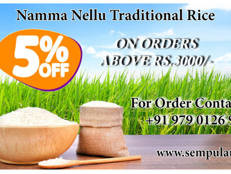 Extra 5% Off On Orders Above Rs.3,000.