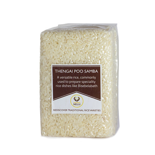 Thengai Poo Samba - தேங்காய் பூ சம்பா