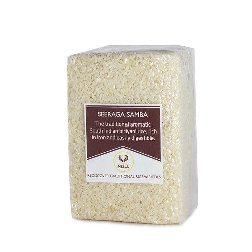 Seeraga Samba (Raw Rice) - சீரக சம்பா (பச்சரிசி)