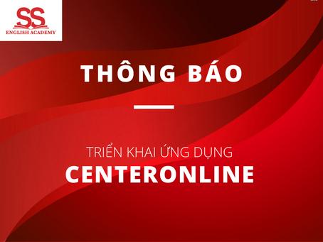 Thông báo Triển khai ứng dụng CenterOnline