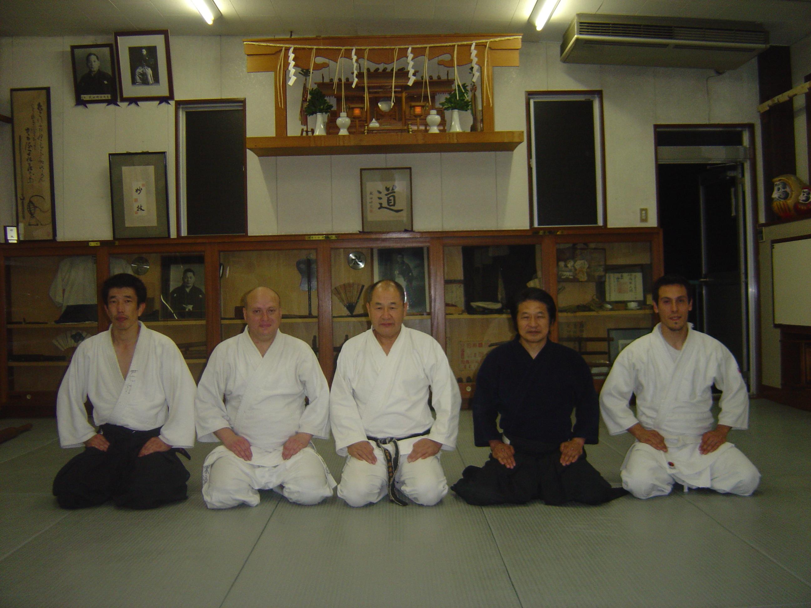 jJunto a Katsuyuki Kondo sensei 2008