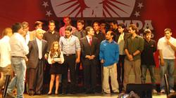 Premiación MDA 2009