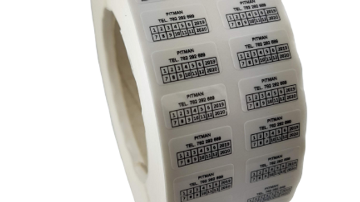 Plomby biały VOID 20*10 mm 500 szt